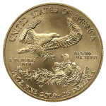 1/2 OZ COMMON DATE - AMERICAN GOLD EAGLE