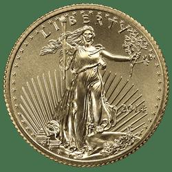 1/4 OZ COMMON DATE - AMERICAN GOLD EAGLE