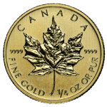 1/4 OZ CANADIAN GOLD MAPLE LEAF