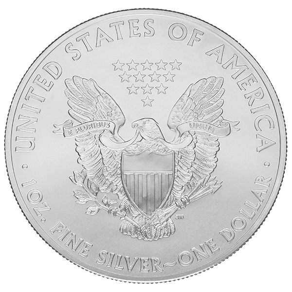 1 OZ COMMON DATE - AMERICAN SILVER EAGLE