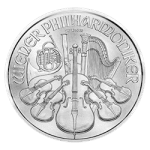 1 OZ COMMON DATE – AUSTRIAN SILVER PHILHARMONIC