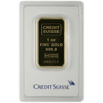 1 OZ CREDIT SUISSE – PURE GOLD BARS