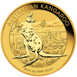 1 OZ KANGAROO COMMON DATE – AUSTRALIAN GOLD