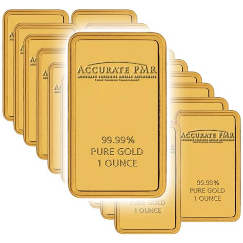 20 1oz Gold Bars