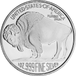 BUFFALO DESIGN - SILVER ROUNDS 1 OZ