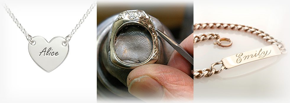 Engraving Rings, Bracelets, Pendant Engravement