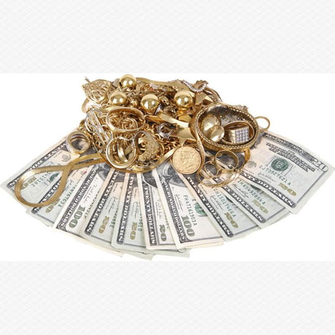 Stack Of Cash, Get The Most Cash For You Gold!