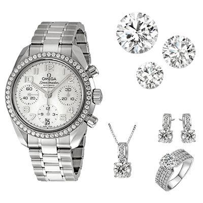 We buy diamonds! We have a GIA Diamond Grader on Staff to offer you the maximum amount of cash!