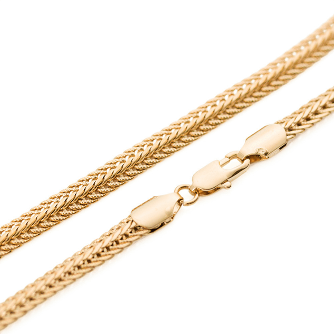 Gold Foxtail Chain