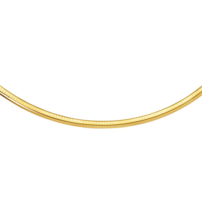 Gold Omega Chain