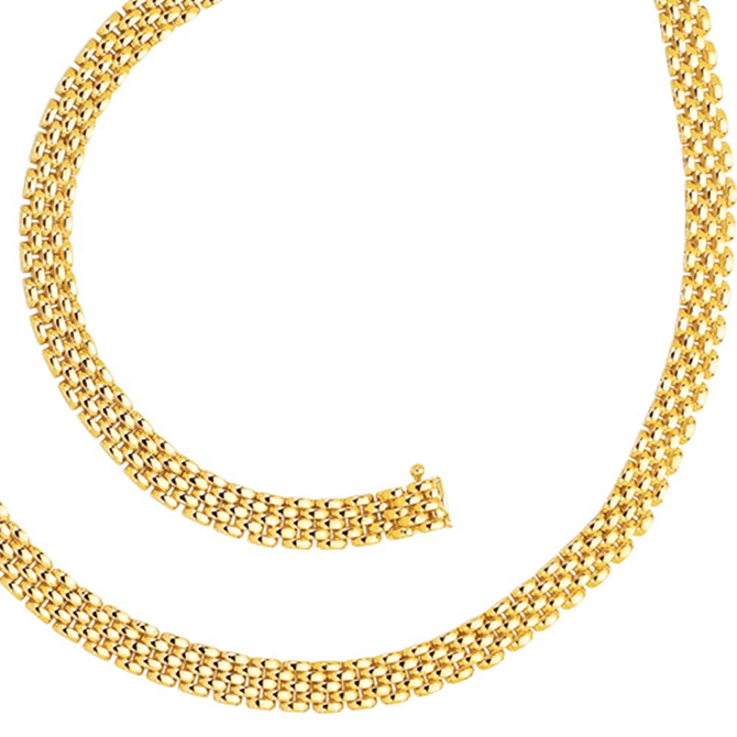 Gold Panther Chain