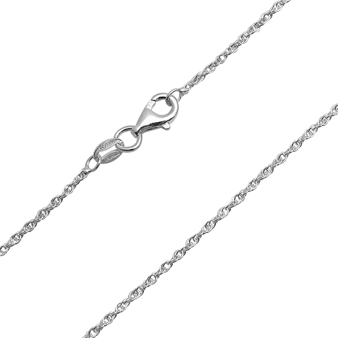 Silver Prince of Wales Chain
