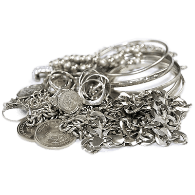 We buy scrap silver and scrap sterling silver