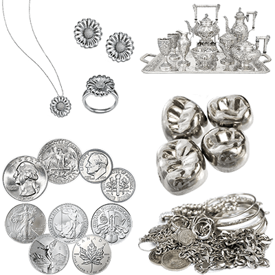 We buy all silver and sterling silver items! Free consultation!