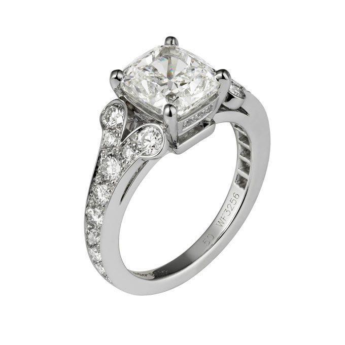Small Diamond Cartier Ring