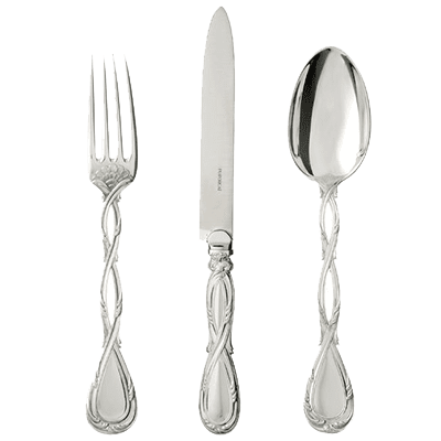 We buy sterling silver cutlery, silver spoons, silver knives, and silver forks