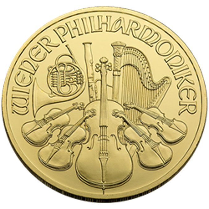 1 OZ  Austrian Gold Philharmonic