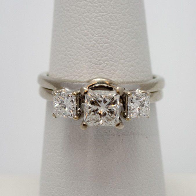 White Gold Diamond Ring On Sale