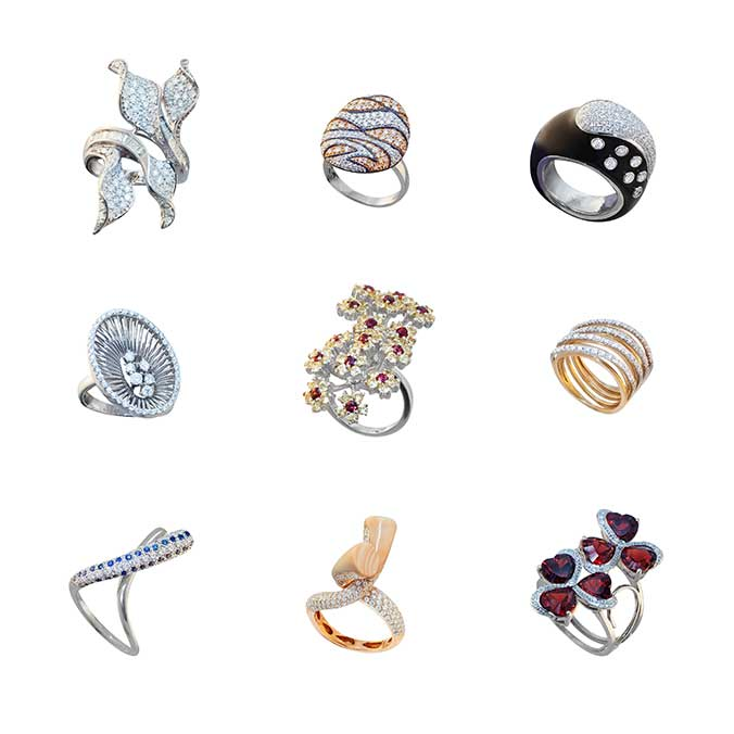 Different Types Of Cocktail Rings